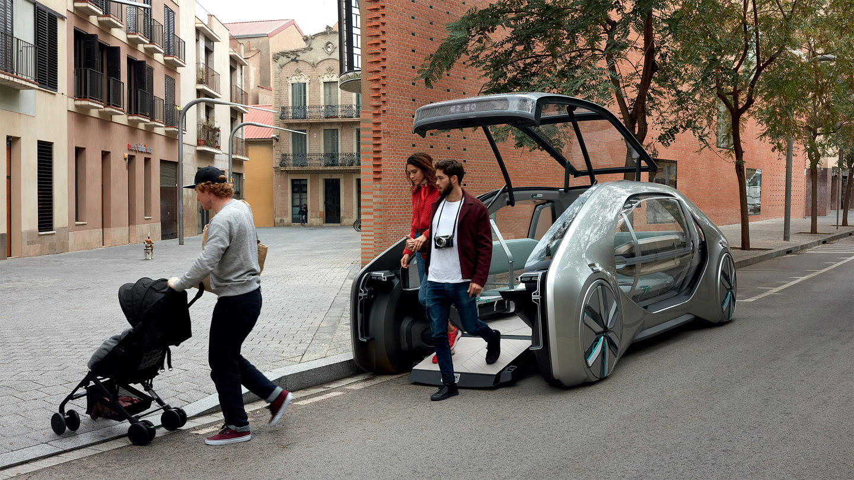 Renault EZ-Go concept car